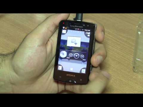 Sony Ericsson Xperia Mini Pro SK17i Qwerty Android Slider Unboxing and Hands On