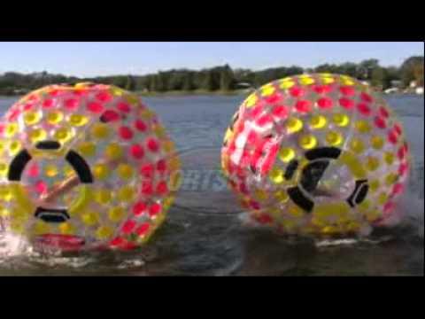 SportsStuff Nuclear Globe Inflatable Ball