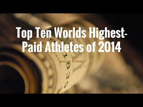 World's highest-paid Athletes of 2014