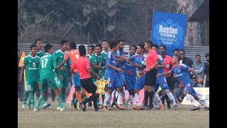Fight in Nepal APF vs Nepal Army Game