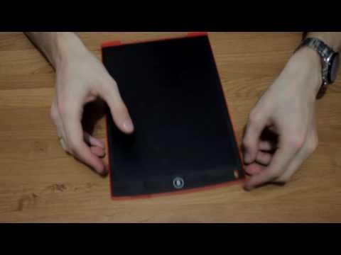 Распаковка. Электронный LCD планшет для рисования Howshow HSD1200.
