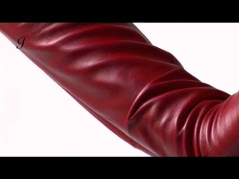 Long Leather Gloves For Men Long Leather Gloves by Ines