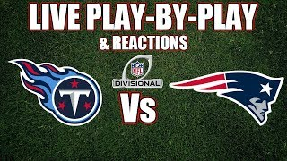 Titans vs Patriots | Live Play-By-Play & Reactions