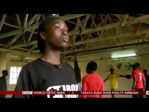 BBC World Service Kenyan BoxGirl