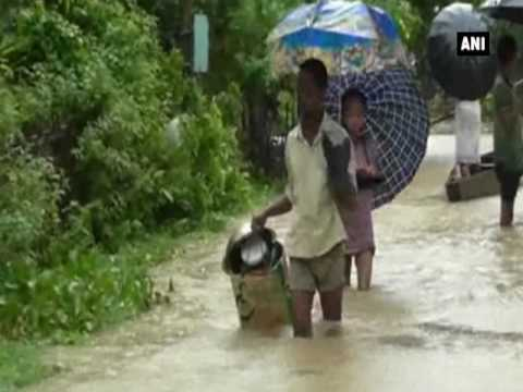 Flood situation in Assam, West Bengal worsens, disrupts normal life - ANI News