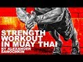 Muay Thai Strength and Conditioning Workout #1