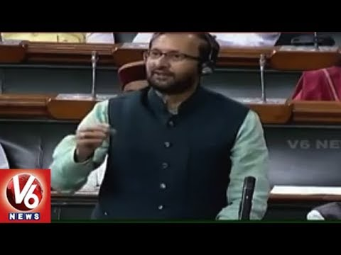 Need To Improve Condition Of Educational Eminence, Says Prakash Javdekar In Parliament | V6 News