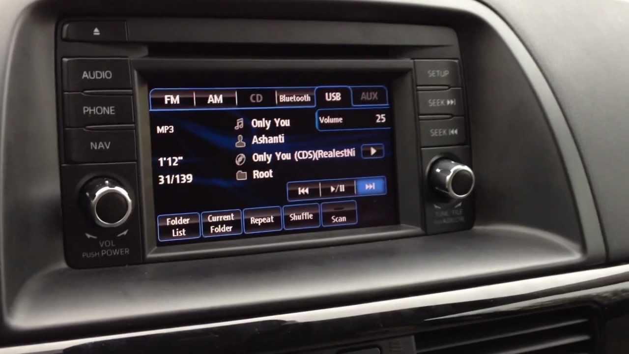 Mazda Cx 5 Bose Audio 9 Speaker Surround System Youtube