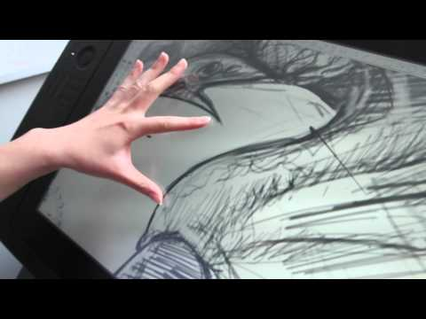 Autodesk Sketchbook on Cintiq 24Hd touch -- Technology Preview