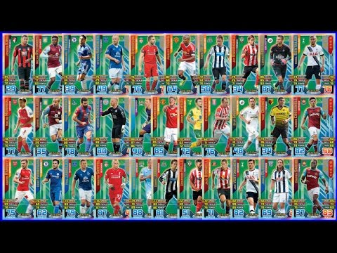 YT Premiere! 🏆 PRO 11 COMPLETE SET 🏆 SHOWCASE 🏆 Topps MATCH ATTAX PREMIER LEAGUE 2016 Trading Cards