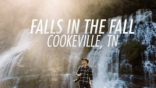 Falls in the Fall in Cookeville, Tennessee