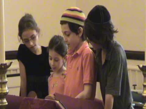 Tori's First Torah Reading.- Beit Rabban (best if viewed in 480p)