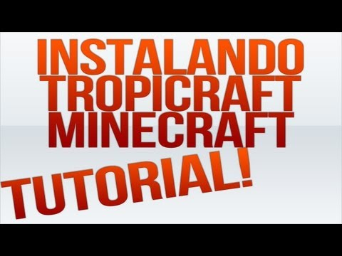 DOWNLOAD PASTA + TUTORIAL - Como Instalar Mod Tropicraft no Seu Minecraft 1.4.2