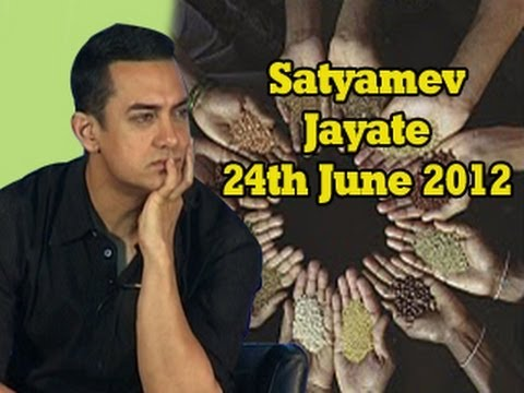 Satyamev Jayate - Toxic Food - Poison on our Plate? 24th June 2012