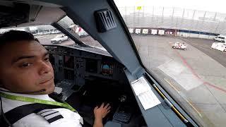 Vive el Despegue del Aeropuerto de la Ciudad de Mexico - Con explicaciones en el video