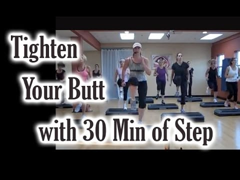 Step Workout: Tighten Your Butt With 30 Minutes Of Step