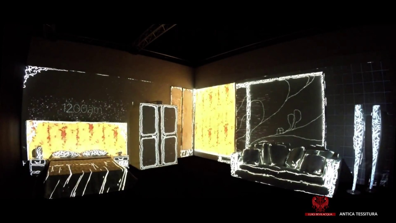 100 madeinvenice london design week the virtual room for Virtual bedroom designer