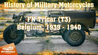 FN Tricar | 1939, Belgium and Indian 841 | 1941, USA. Test-drive.