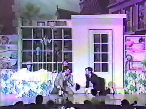 """Hello Dolly!"" at NHS in Muncie, Indiana 1988 (2)"