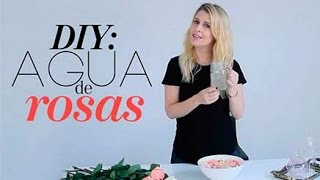 DIY Agua de rosas | The Beauty Effect