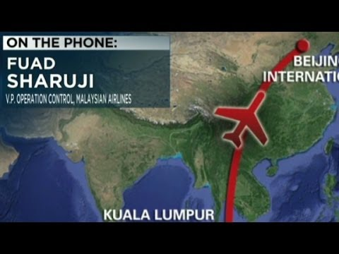 Malaysia Airlines' VP: Plane would have run out of fuel klip izle