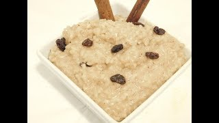 Arroz con Dulce  recipe| Rice Pudding w/ Real Coconut Milk|Traditional way| Abuela style | Ep 304