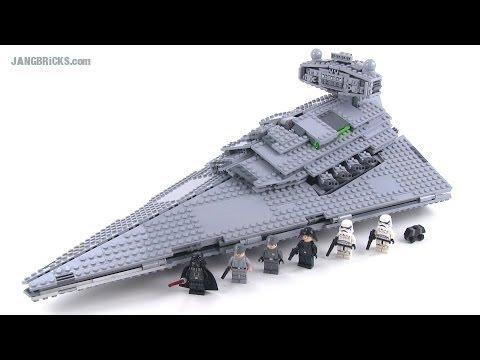 Lego star wars 75055 imperial star destroyer review summer 2014 youtube - Croiseur interstellaire star wars lego ...