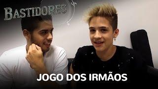 """EXCLUSIVO! Zé Felipe e João Guilherme se enfrentam no """"Jogo dos Irmãos"""""""
