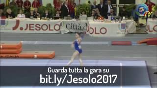 bit.ly/Jesolo2017 - MAILE O'KEEFE (Corpo Libero) - Finali di Specialità