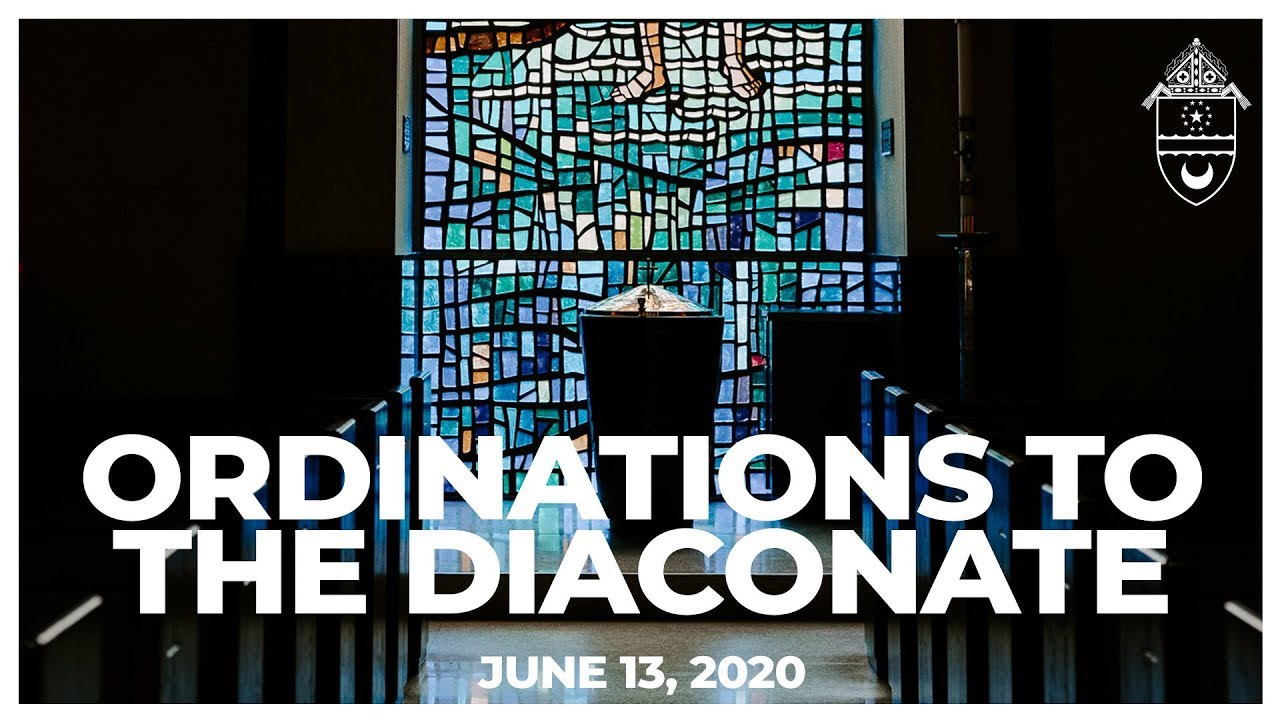 Ordinations to Transitional Diaconate
