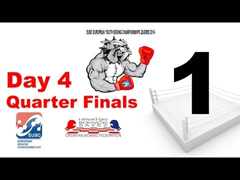 EUBC European Youth Boxing Championships - Zagreb 2014 - Day 4 - Session 8