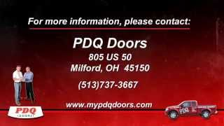 Garage Door Not Sealing? Call PDQ For Service Today!  sc 1 st  ViYouTube & MyPDQDoors - ViYoutube.com pezcame.com