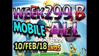 Angry Birds Friends Tournament All Levels Week 299-B MOBILE Highscore POWER-UP walkthrough
