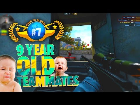 9 YEAR OLD TEAMMATES - SOLO to Global #7
