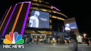 Watch Athletes, Fans Honor Kobe Bryant At Games Across U.S. | NBC News