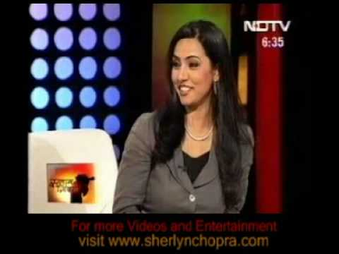 Sherlyn on NDTV