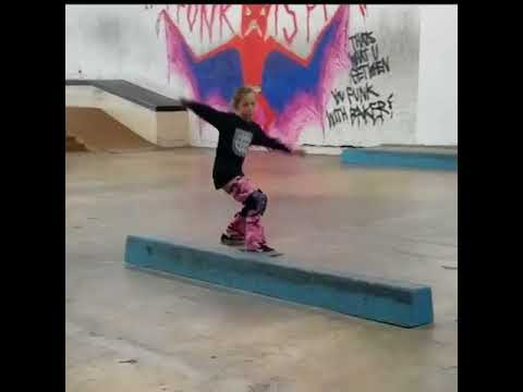 Fun time at #BakerBoys with 6 year young @brielsk8grl | Shralpin Skateboarding