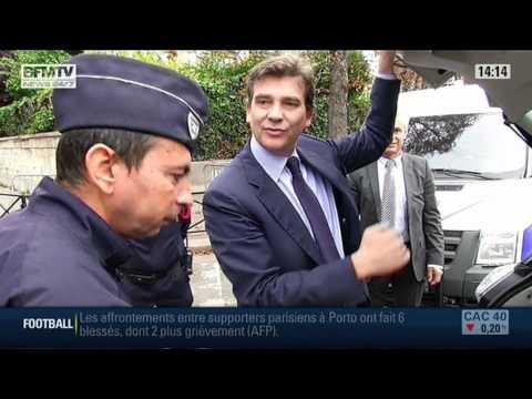 Arnaud Montebourg présente la nouvelle Renault Zoé
