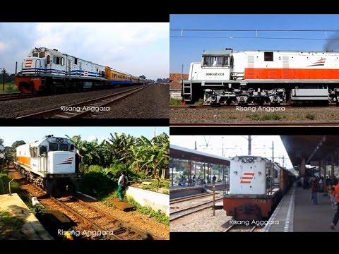 [Kompilasi] Semboyan 35 / Klakson / Hornsound Lokomotif Seri CC 201