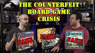 Counterfeit Board Games - Just How Big of a Problem Are They?