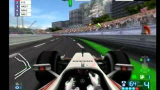 F1 2006 monaco PS2