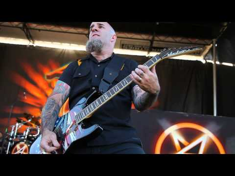 Scott Ian Anthrax Among The Living Jackson Soloist Guitar