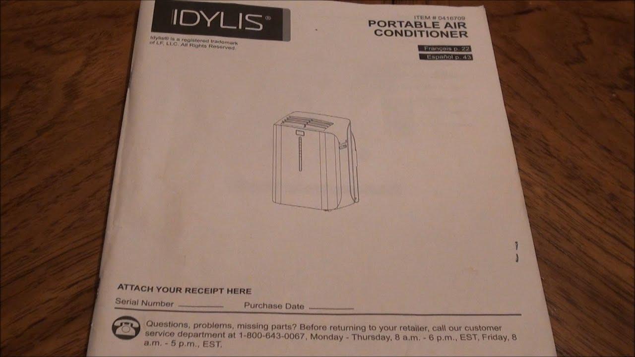 Similiar idylis 416711 keywords lowes idylis 10000 btu ac instructions model 0146709 idylis air purifier fandeluxe Choice Image