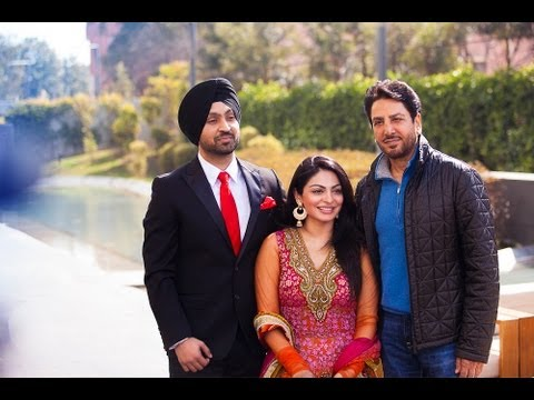 Gurdas Maan G With Diljit Dosanjh And Neeru Bajwa