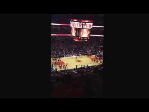 Chicago Bulls vs Washington Wizards Game 2 NBA Playoffs 2014 INTRO
