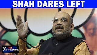 Amit Shah Exposed Left's Hypocrisy?   The Newshour Debate (3rd October)
