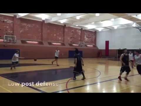 【ポスト封じ3】Low post defense