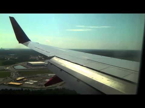 Southwest Airlines Landing Orlando MCO
