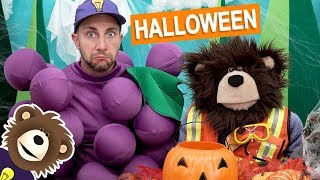 Kids Halloween Costume with Mayta The Brown Bear   Halloween for Kids