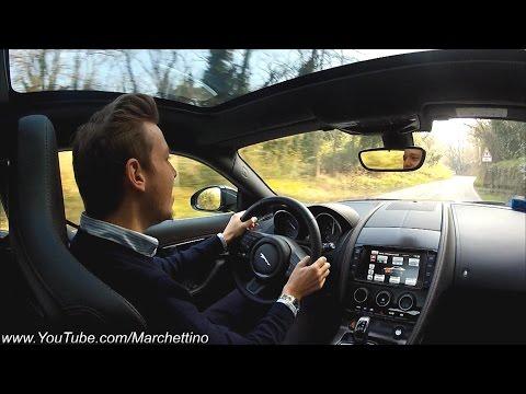 Jaguar F-Type R Driven - British Elegance and Brutal Power